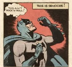 Memes Rock N Roll - this ain t rock n roll this is genocide batman know your meme