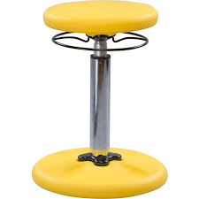 adjustable seat height wobble chair