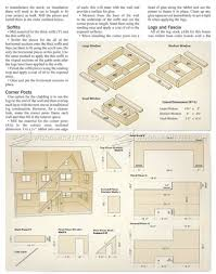 18 Doll House Plans Free by House Plan 833 Doll House Plans Wooden Toy Plans Gute Ideen