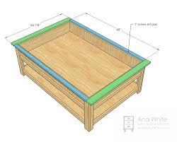 diy folding train table ana white mom s train table diy projects