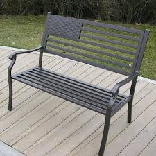 Modern Metal Outdoor Furniture Butterfly Aluminum Garden Benchmetal Outdoor Furniture Canada