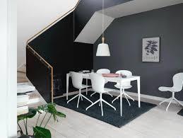 Farbenlehre Esszimmer Schwarze Wände