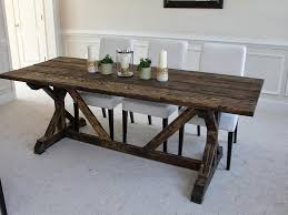 Farm Table With Bench And Chairs Farmhouse Dining Table With Bench And Chairs U2014 Farmhouse Design