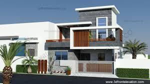 3d front elevation com 10 marla contemporary house design 2016