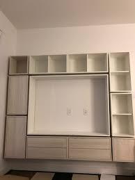 furniture hemnes tv unit tv stand costco entertainment