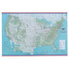 Norfolk County Wall Map Framed Pilot U0027s General Reference Flight Case Map Folded Aviator U0027s