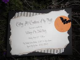 Halloween Party Invite Poem Homemade Halloween Party Invitation Ideas U2013 Fun For Halloween