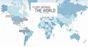Trinidad World Map by Flight Around The World U2014 Fly With Amelia