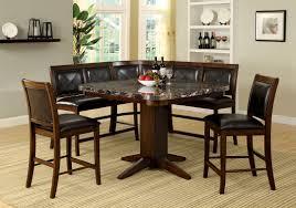 kitchen faux marble kitchen table set black chair idea design