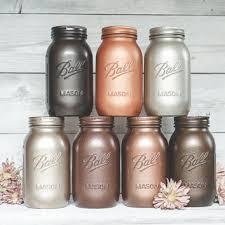 painted mason jar canister set mason jar from kastylesmasonjars