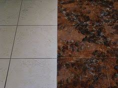 how to stain tile floors clay tiles tile flooring and clay