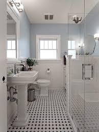 Black And White Checkered Tile Bathroom Wonderful Black And White Tile Bathroom And Best 25 Black White