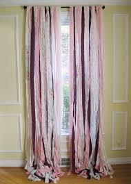 boho window curtains bohemian ribbon curtains shabby chic