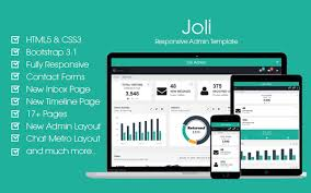 free responsive bootstrap joli angular js admin template