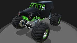 monster trucks grave digger bad to the bone simpleplanes grave digger