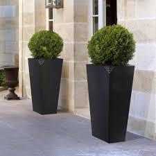 vasi in plastica da esterno vaso in plastica grande con finitura opaca eros nicoli