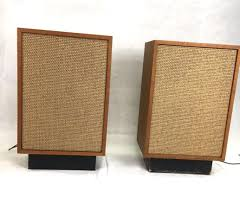 speakers mid century modern design audio stereo