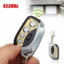 garage door key fob gv608 433mhz electric cloning universal gate garage door remote