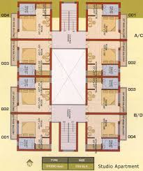 Delighful Apartment Floor Plans Designs Studio Ideas On Pinterest - Apartment floor plans designs