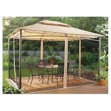 Replacement Canopy For 10x12 Gazebo by Castlecreek 10 U0027 X 12 U0027 Classic Garden Gazebo 232387 Awnings
