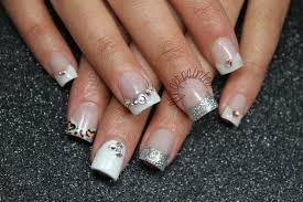 29 white acrylic nails designs white acrylic nails with sparkle