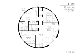 monolithic dome floor plans floor plan dl 3402 monolithic dome institute circular homes