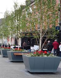 large outdoor planters uk metal planter boxes planter box