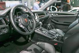 porsche macan 2015 interior 2017 porsche macan adds 252 hp turbo four base model automobile