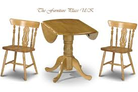 Pine Drop Leaf Table Julian Bowen Dundee Dining Table Drop Leaf 91cm Diameter In Honey