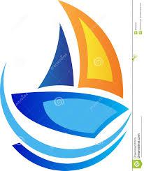 sailing boat logo royalty free stock photography image 32506597