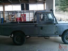 land rover series ii land rover 109 pickup series ii defender