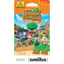 Halloween Animal Crossing by Animal Crossing New Leaf Welcome Cards 6 Pk Walmart Com