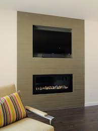 photos hgtv living room with sleek fireplace and gray tile focal