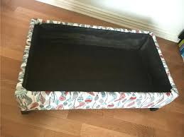 Upholstered Storage Ottoman Coffee Table Make Storage Ottoman U2013 Techpotter Me