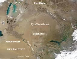 World Map Of Deserts 8 7 Central Asia And Afghanistan World Regional Geography