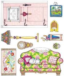 printable barbie house furniture 995 best paper furniture for miniatures images on pinterest