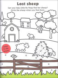 nursery rhymes color activity book 028834 details rainbow