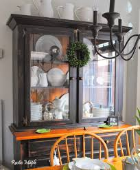 Dining Room Buffet And Hutch Rustic Maple Spring Dining Room