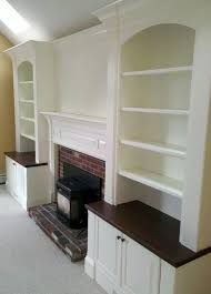 built in cabinets around fireplace fireplace built ins traditional family room boston by custom
