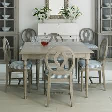 Painted Dining Table by Stola Extending Dining Table Painted Wood Oka