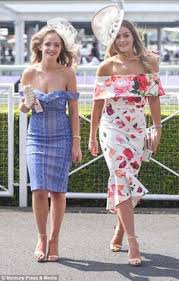 chester races 2017 best dressed guests on ladies day daily mail