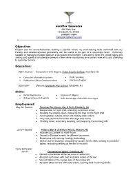 objective on a resume for bartending positions san diego server objective resume