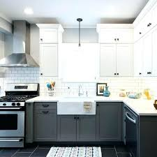 Two Tone Painted Kitchen Cabinet Ideas Two Color Kitchen Cabinets Two Tone Kitchen Cabinets Trend 119