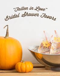 fall bridal shower ideas fallen in fall bridal shower favors so festive