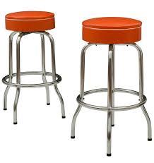 modern orange bar stools modern orange bar stools mid century italmodern agnes adjustable