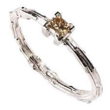 brown diamond engagement ring milena kovanovic cut diamond gold engagement ring for sale at