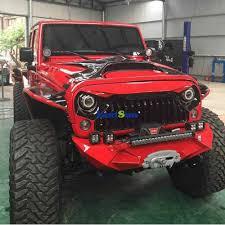 jeep black matte prices 1 set j189 abs plastic front matte black gladiator vader grille