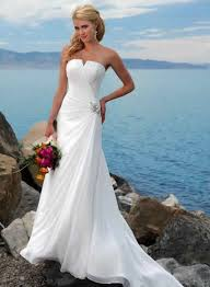 perfect beach wedding dresses ideal weddings