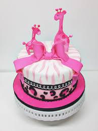 Pink Giraffe Baby Shower Cakes Zone Romande Decoration