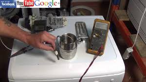 how to test a ntc sensor washing machine tumble dryer dishwasher